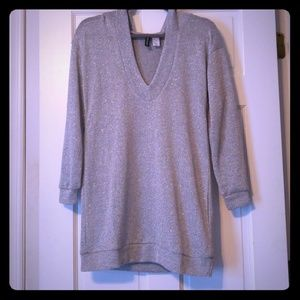 Sparkly Hooded Tunic